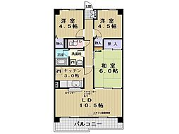 ビラ玉川学園台[2階]の間取り
