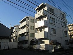神奈川県川崎市中原区下小田中2丁目の賃貸マンションの外観