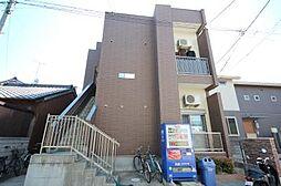 愛知県名古屋市中川区乗越町3丁目の賃貸アパートの外観