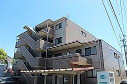 愛知県あま市七宝町下田西長代の賃貸マンションの外観
