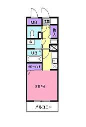 レフィナード・トーレ[6階]の間取り