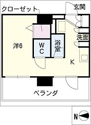 オルト春日井[5階]の間取り