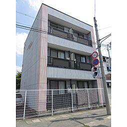 静岡県浜松市中区小豆餅2丁目の賃貸アパートの外観