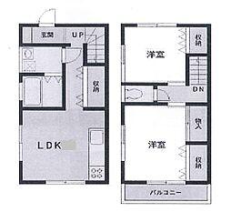 [テラスハウス] 神奈川県横浜市中区本郷町3丁目 の賃貸【/】の間取り