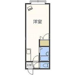 フロンティアK3[3階]の間取り