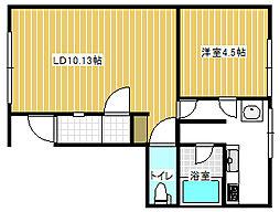 共同ビル[4階]の間取り
