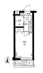 上板橋ダイカンプラザシティII[4階]の間取り
