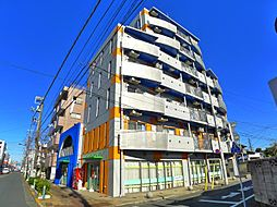 東京都足立区竹ノ塚2丁目の賃貸マンションの外観
