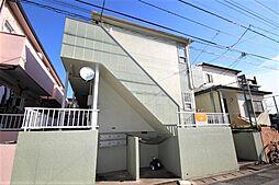 千葉県千葉市花見川区幕張本郷5の賃貸アパートの外観