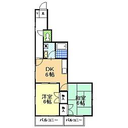 木暮マンション[3階]の間取り