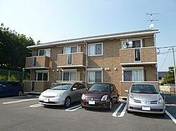 岡山県倉敷市北浜町の賃貸アパートの外観
