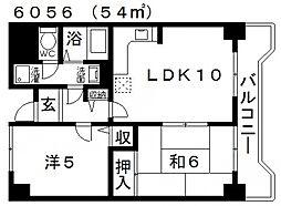Ti45(ティーアイ45)[605号室号室]の間取り