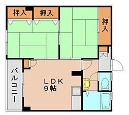 東福岡ビル[5階]の間取り