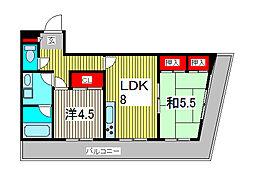 ガーデンパークカタノ[3階]の間取り