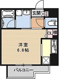 アスヴェル京都西京極[301号室号室]の間取り