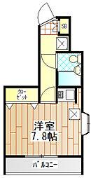 ライオンズルーセント町田[6階]の間取り