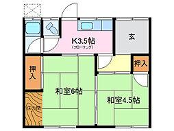 [一戸建] 三重県伊勢市中島2丁目 の賃貸【/】の間取り