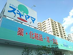 ドラッグスギヤマ藤が丘北店営業時間 10:00〜22:00 徒歩 約9分(約700m)
