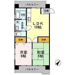 第2川本ビル[3階]の間取り
