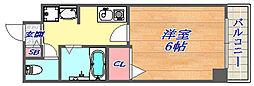 SANKO セレブコート[606号室]の間取り
