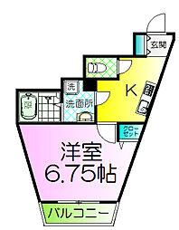アライズ諏訪ノ森マンション[2階]の間取り