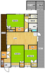 [一戸建] 山口県下関市伊倉町3丁目 の賃貸【/】の間取り