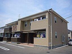 福岡県糟屋郡篠栗町大字田中の賃貸アパートの外観