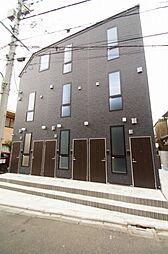 東京都大田区仲六郷4丁目の賃貸アパートの外観