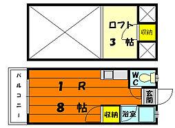 ソフィア松香台II[1階]の間取り