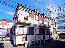 東京都練馬区東大泉4丁目の賃貸アパートの外観