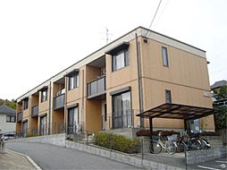 京都府京都市伏見区桃山町伊庭の賃貸アパートの外観