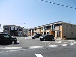 和歌山県岩出市水栖の賃貸アパートの外観