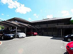 兵庫県神戸市北区山田町下谷上芝床の賃貸アパートの外観