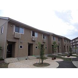 GARDEN HOUSE SHIMOAKAE A棟[101号室]の外観