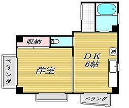 KANNA碑文谷[2階]の間取り