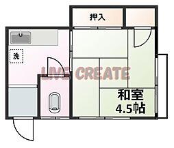 春日野道駅 1.5万円