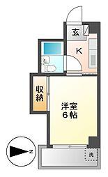 第2小山ビル[2階]の間取り