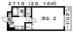 ラ・フェスタ喜志[305号室号室]の間取り
