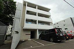 北海道札幌市中央区北四条西22丁目の賃貸マンションの外観