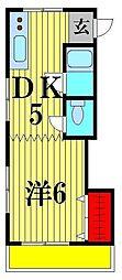 メゾンド・マツキ[3階]の間取り