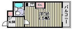 アンビロン高石[205号室]の間取り