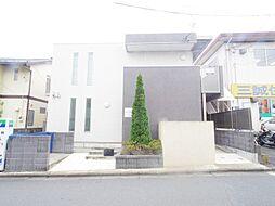 埼玉県川越市東田町の賃貸アパートの外観