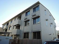 大阪府八尾市山本町北3丁目の賃貸アパートの外観
