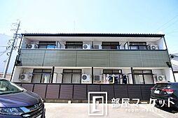 愛知県豊田市東梅坪町6丁目の賃貸アパートの外観