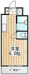 コスモス町田[B107号室]の間取り