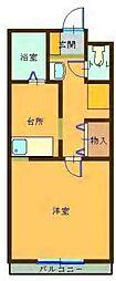 コンパートメントWクエストII[2階]の間取り