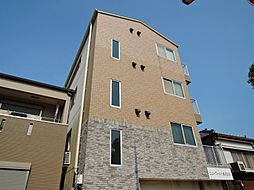 福岡県北九州市戸畑区北鳥旗町の賃貸アパートの外観