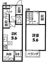 [テラスハウス] 京都府京都市上京区利生町 の賃貸【/】の間取り