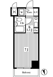 ストークプラザ駒込[3階]の間取り