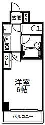 エスリード松屋町[3階]の間取り